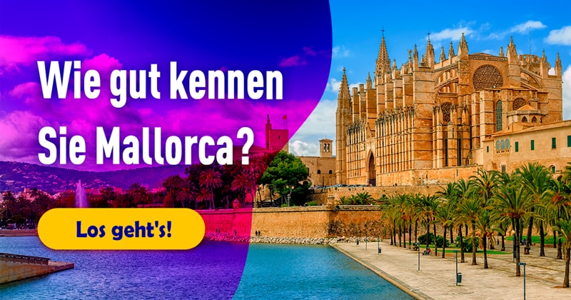 Geographie Quiz-Test: Mallorca-Quiz