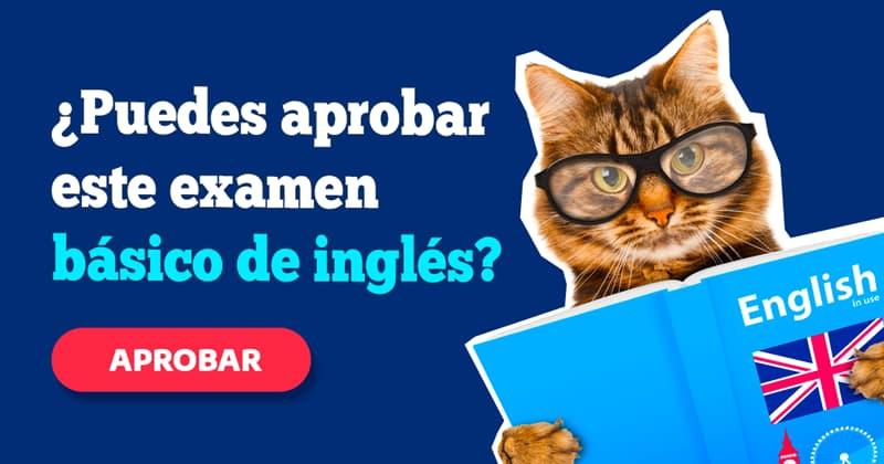 idioma Quiz Test: ¿Puedes aprobar este examen básico de inglés?