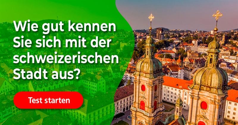 Geographie Quiz-Test: St. Gallen-Quiz