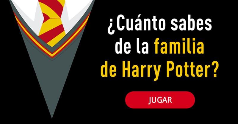 Películas Quiz Test: ¿Cuánto sabes de la familia de Harry Potter?