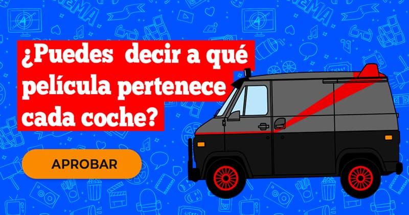 Películas y TV Quiz Test: ¿Puedes  decir a qué película pertenece cada coche?