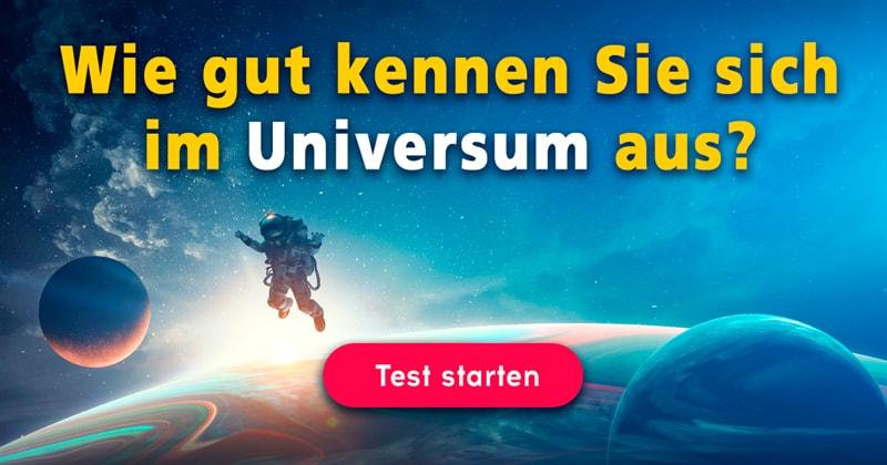 Wissenschaft Quiz-Test: Das Universum-Quiz