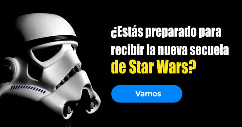 Películas y TV Quiz Test: ¿Estás preparado para recibir la nueva secuela de Star Wars?