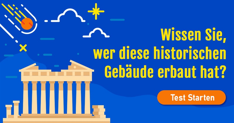 Kultur Quiz-Test: Quiz: Historische Gebäude