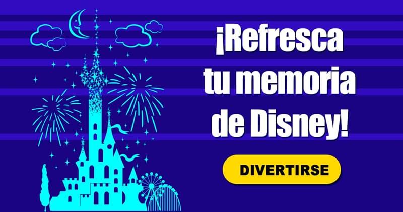 Películas y TV Quiz Test: ¡Refresca tu memoria de Disney!