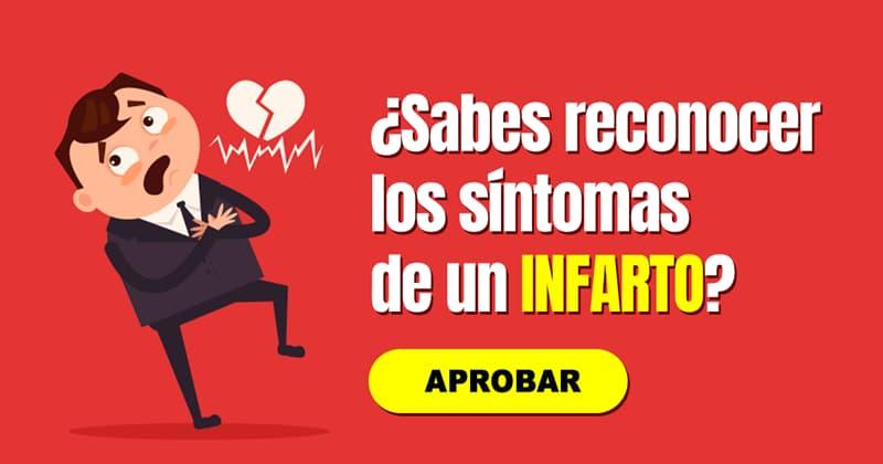 Сiencia Quiz Test: ¿Sabes reconocer los síntomas de un infarto?