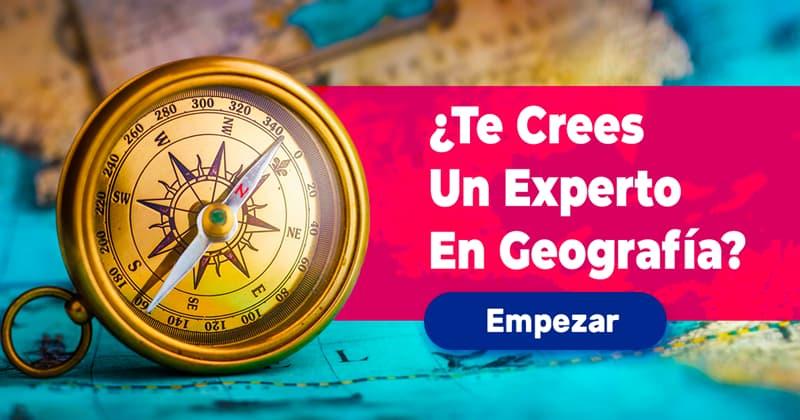 Geografía Quiz Test: ¿Te crees un experto en geografía?