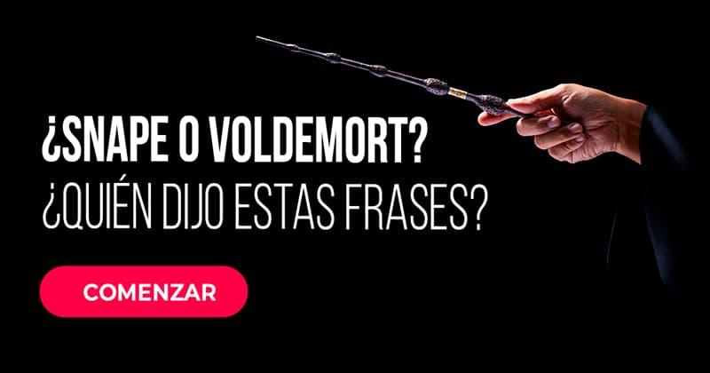 Películas Quiz Test: ¿Snape o Voldemort? ¿Quién dijo estas frases?
