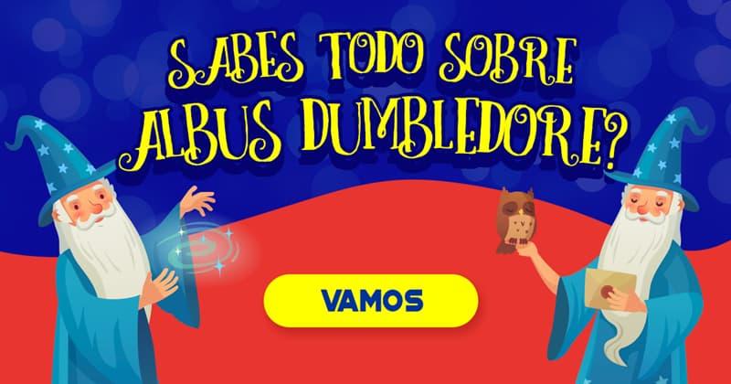 Películas Quiz Test: ¿Sabes todo sobre Albus Dumbledore?