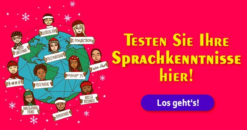 """Kultur Quiz-Test: Wie sagt man """"Frohe Weihnachten"""" in anderen Ländern?"""