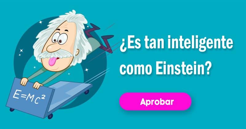 Сiencia Quiz Test: ¿Es tan inteligente como Einstein?