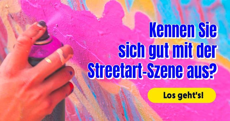 Kultur Quiz-Test: Streetart-Quiz