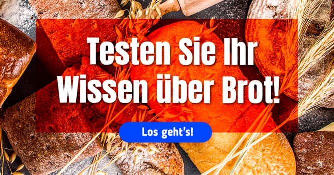 Kultur Quiz-Test: Brot-Quiz