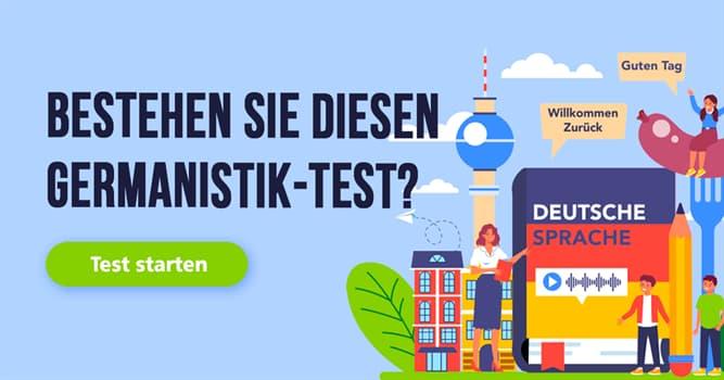Sprache Quiz-Test: Germanistik-Quiz