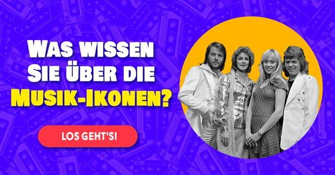 Kultur Quiz-Test: ABBA-Quiz