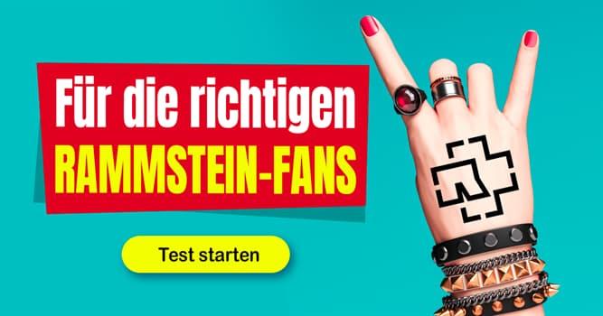 Kultur Quiz-Test: RRRRRRammstein!