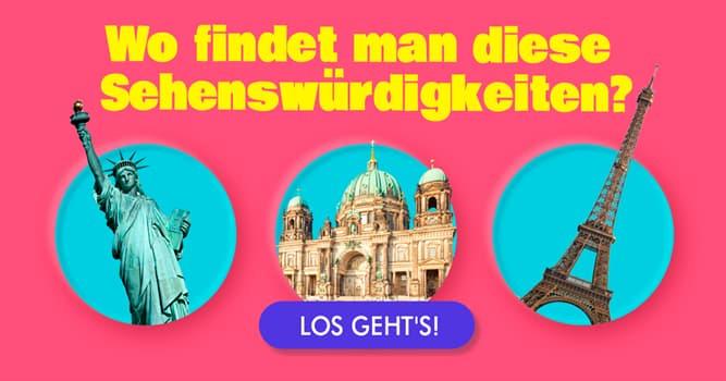 Kultur Quiz-Test: Stehen diese Sehenswürdigkeiten in Deutschland?