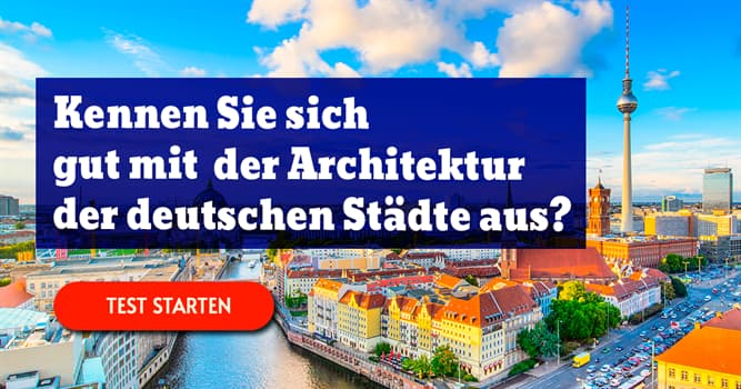 Gesellschaft Quiz-Test: Stadtplanung-Quiz