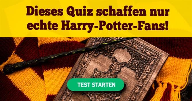Film & Fernsehen Quiz-Test: Das Quiz für echte Harry-Potter-Experten