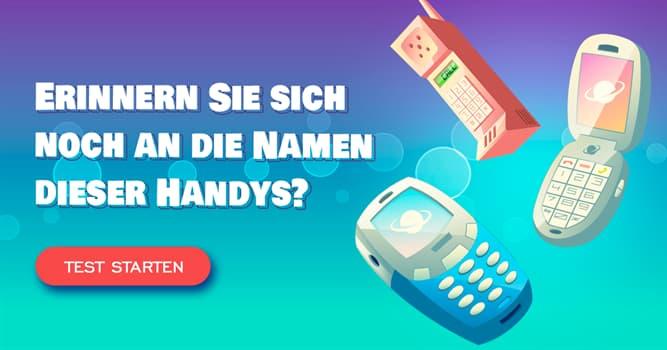 Gesellschaft Quiz-Test: Quiz: Handys der 2000er