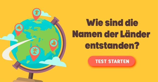 Geographie Quiz-Test: Quiz: Ländernamen