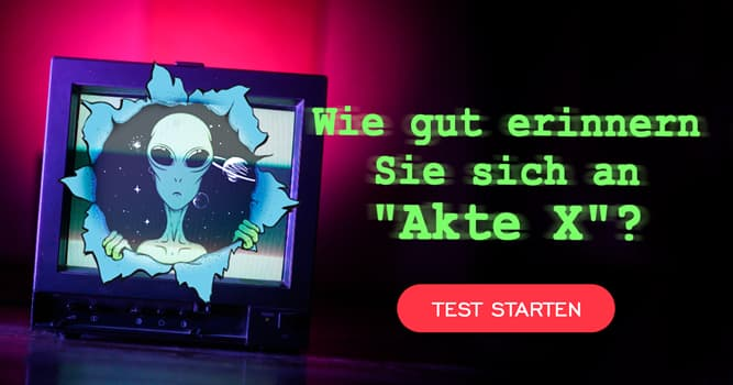 Film & Fernsehen Quiz-Test: Serien-Quiz: Akte X