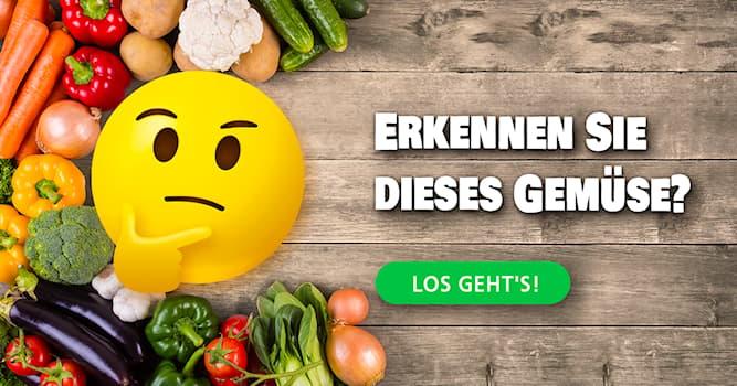 Natur Quiz-Test: Das Gemüse-Quiz