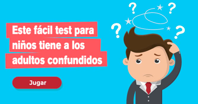 Quiz Test: Este fácil test para niños tiene a los adultos confundidos