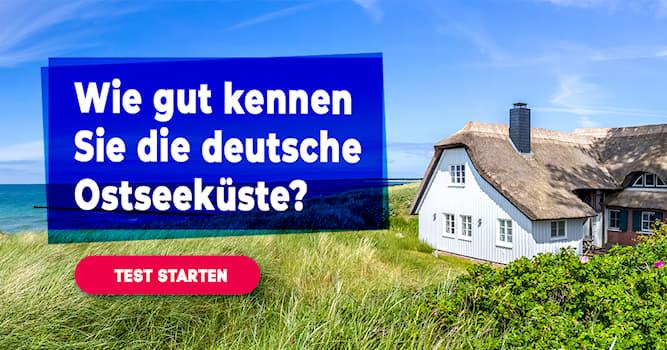 Geographie Quiz-Test: Quiz: Deutsche Ostseeküste