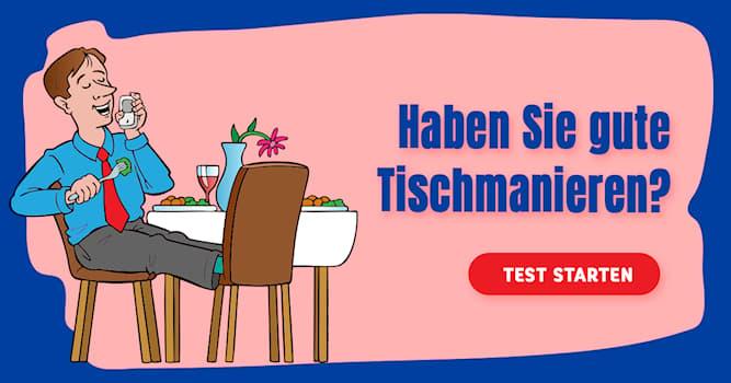 Gesellschaft Quiz-Test: Quiz: Restaurant-Knigge