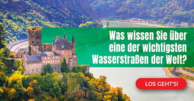 Geographie Quiz-Test: Stadt – Land – Rhein: Das Quiz