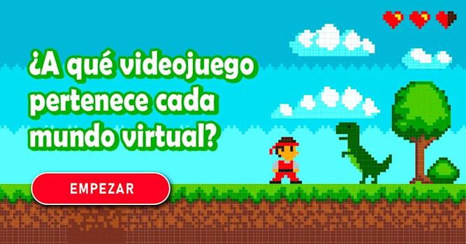 Cultura Quiz Test: ¿A qué videojuego pertenece cada mundo virtual?