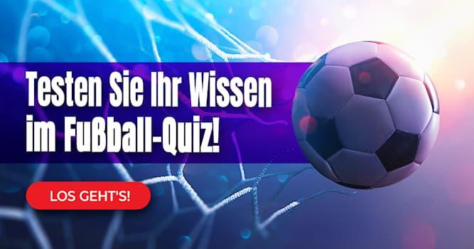 Sport Quiz-Test: Das kuriose Fußball-Quiz