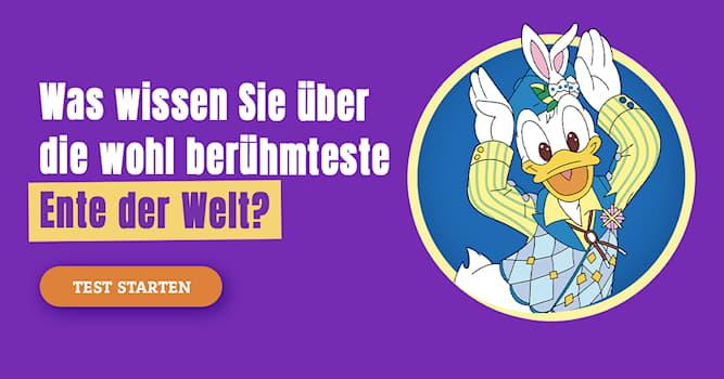 Film & Fernsehen Quiz-Test: Quiz: Donald Duck