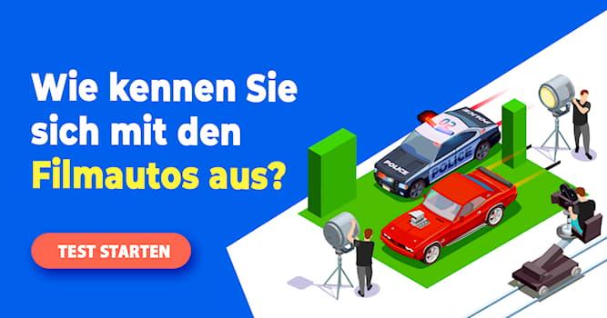 Film & Fernsehen Quiz-Test: Quiz: Erkennen Sie den Film am Auto