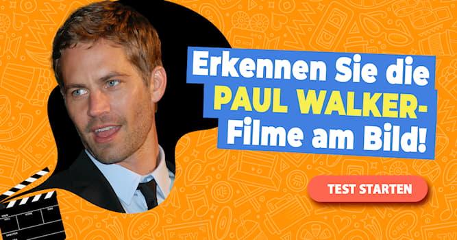 Film & Fernsehen Quiz-Test: Quiz: Filme mit Paul Walker