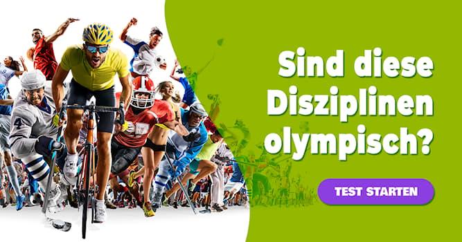 Sport Quiz-Test: Quiz: Olympische Disziplinen