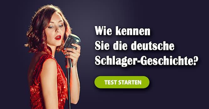 Kultur Quiz-Test: Quiz: Deutsche Schlagerszene