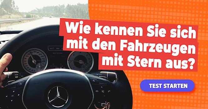 Gesellschaft Quiz-Test: Quiz: Mercedes-Baureihen-Bezeichnungen