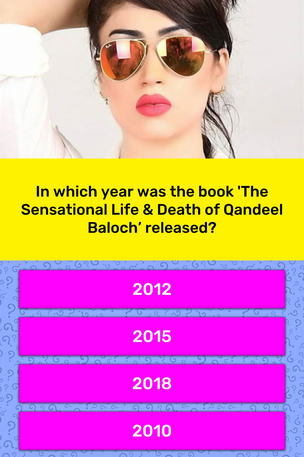 The Sensational Life and Death of Qandeel Baloch All Set