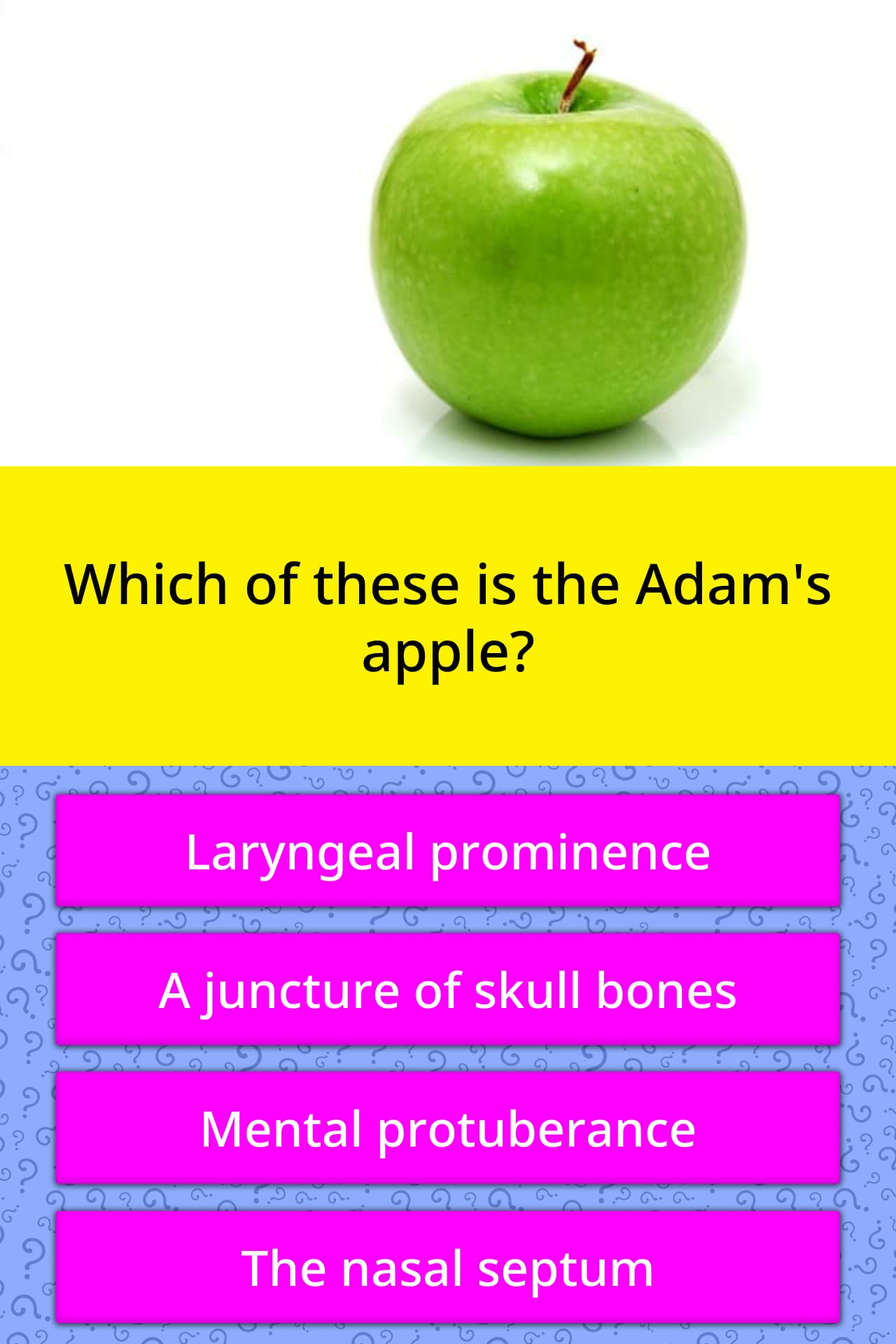 Adamovo Apple a prostatitisből