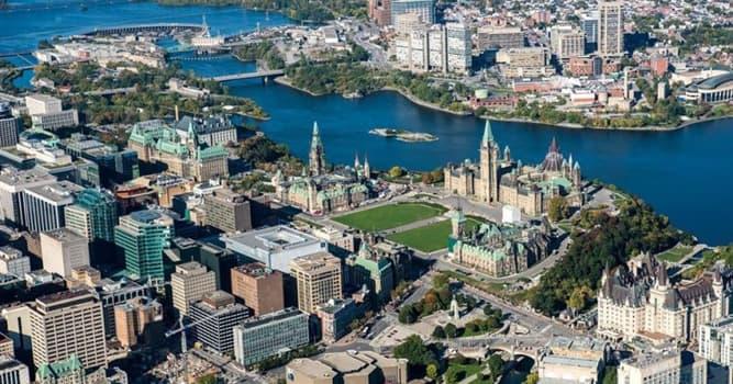 Geografia Pytanie-Ciekawostka: Jak nazywa się stolica Kanady?