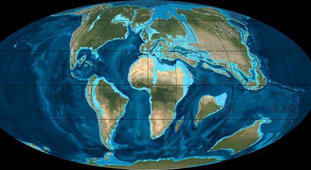 Cultura Pregunta Trivia: ¿En qué océano estaba sumergido el territorio mexicano en la era Mesozoica ?