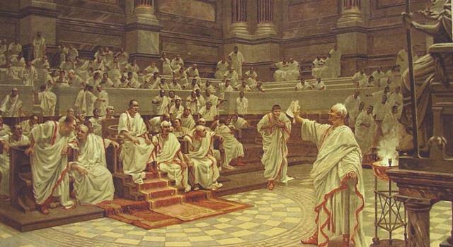 Historia Pregunta Trivia: ¿Qué cónsul romano fue asesinado por sus discursos contra Marco Antonio?