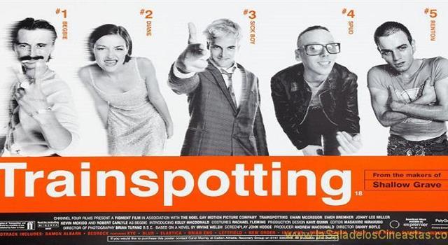 """Películas Pregunta Trivia: ¿Quién protagonizó en 1996 la película dirigida por Danny Boyle, """"Trainspotting""""?"""