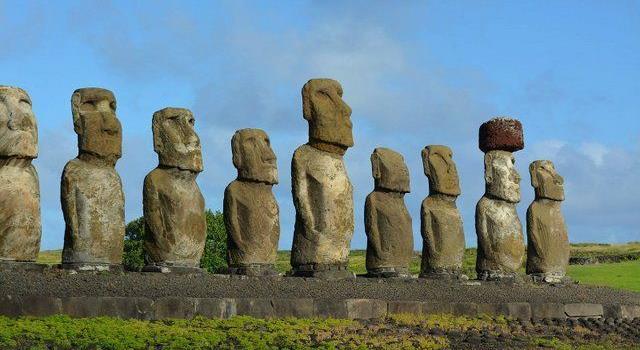Cultura Pregunta Trivia: ¿Con qué otro nombre se conocen las esculturas gigantes de la Isla de Pascua?