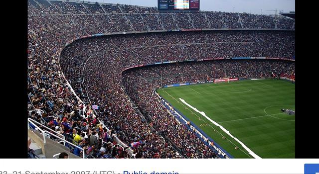 Deporte Pregunta Trivia: ¿Cuál es el estadio de fútbol más grande de Europa?