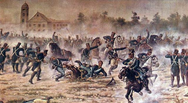 Historia Pregunta Trivia: ¿Cuál fue la batalla en la que el soldado  Cabral le salva la vida al libertador argentino San Martín?