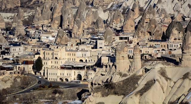 Geografía Pregunta Trivia: ¿Dónde está la región de Capadocia?
