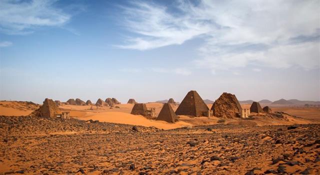 Geografía Pregunta Trivia: ¿Dónde están ubicadas las pirámides Nubias?